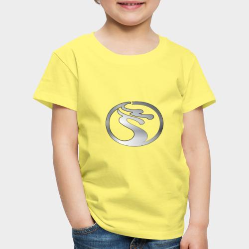 LOGO DRAGON PLATA - Camiseta premium niño