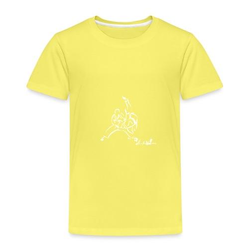 TAI OTOSHI BIANCO - Maglietta Premium per bambini