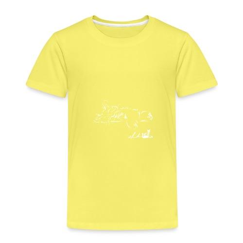 GATTO CHE DORME - Maglietta Premium per bambini