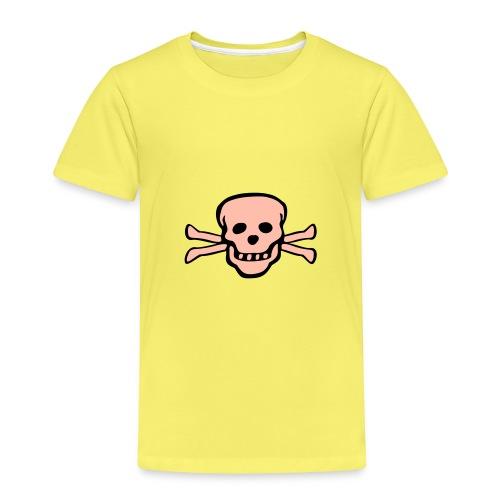 skull tattoo style - Kinder Premium T-Shirt