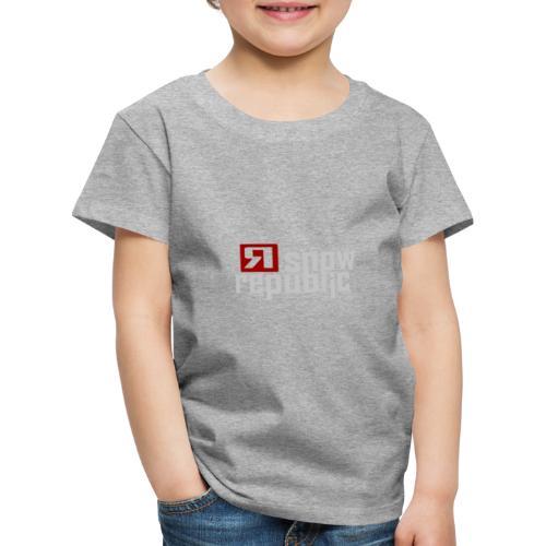 SNOWREPUBLIC 2020 - Kinderen Premium T-shirt