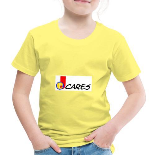 Joe Cares Logo light - Kinder Premium T-Shirt