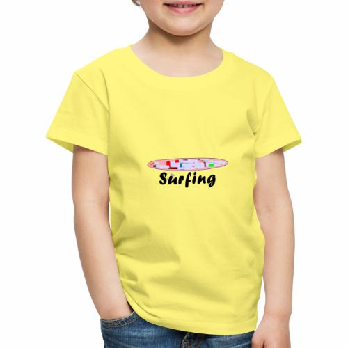 Surfing - Kinder Premium T-Shirt