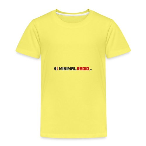 MINIMALRADIO DE Schriftzug - Kinder Premium T-Shirt