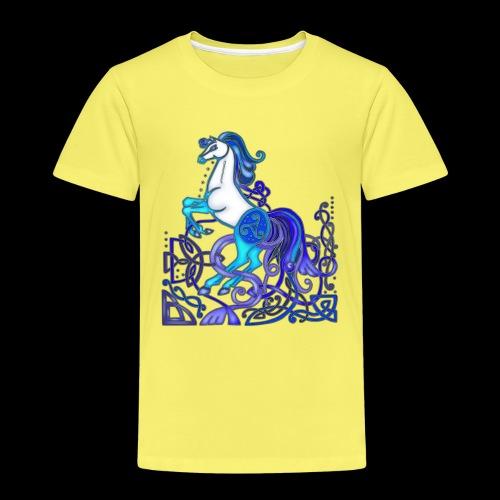 Celtic Horse Silver Blue - Kids' Premium T-Shirt