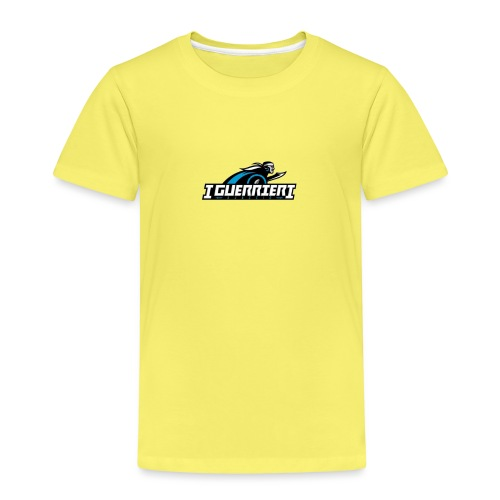 logo sans fond i guerrier - T-shirt Premium Enfant