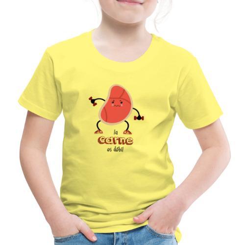 La carne es débil - Camiseta premium niño
