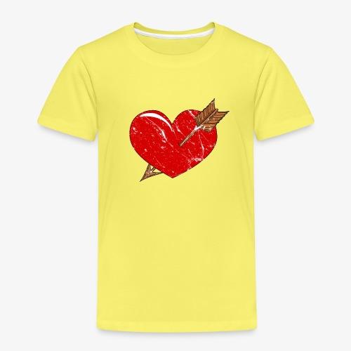 Herz Pfeil - Kinder Premium T-Shirt
