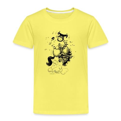 Thelwell Cartoon Rodeo - Kinder Premium T-Shirt