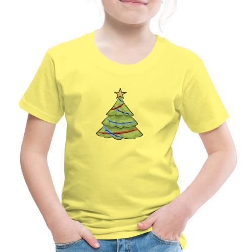 Christmas tree, tree, christmas, new year - Kids' Premium T-Shirt