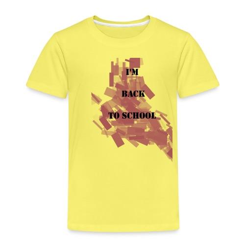 Back To School - T-shirt Premium Enfant