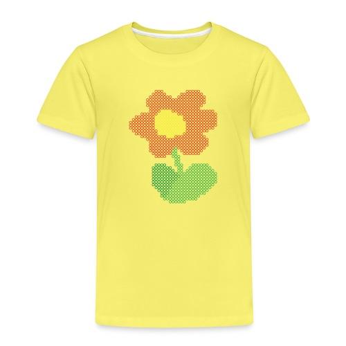 Ellys blomst - Børne premium T-shirt