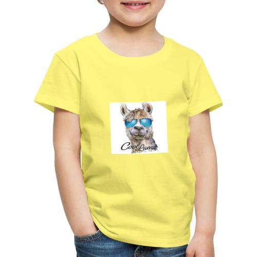 Cool Lama - Kinder Premium T-Shirt