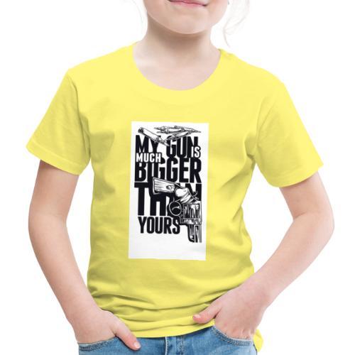 gun - Kinder Premium T-Shirt
