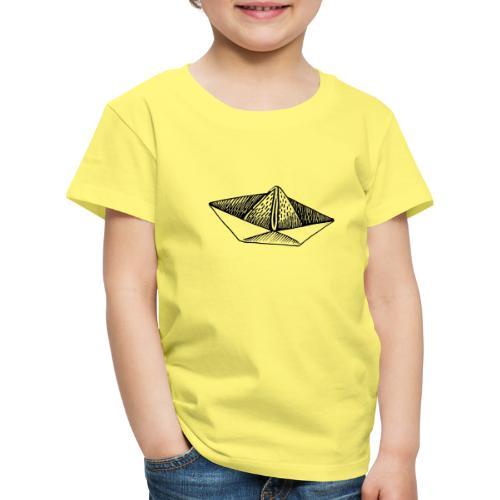 Schiffchen-1 - Kinder Premium T-Shirt