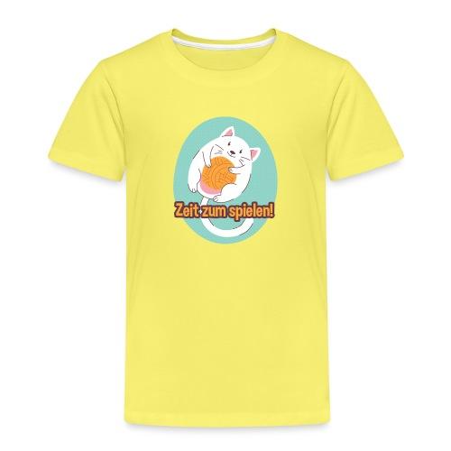 Zeit zum spielen - Kinder Premium T-Shirt