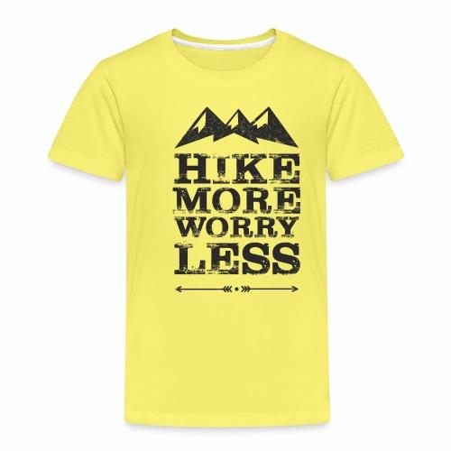 Hike more schwarz - Kinder Premium T-Shirt