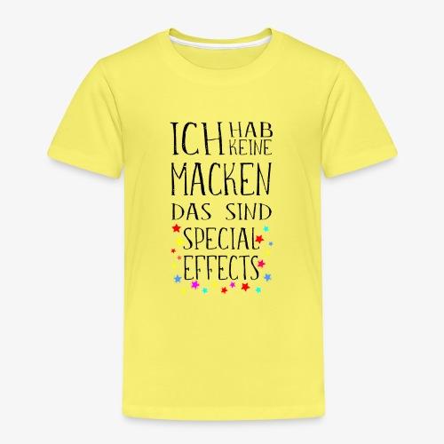 Keine Macken Das sind Special Effects - Kinder Premium T-Shirt