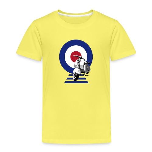 Mod Target Scooter - Kids' Premium T-Shirt