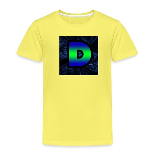 DinoHD Logo 1 png - Kids' Premium T-Shirt