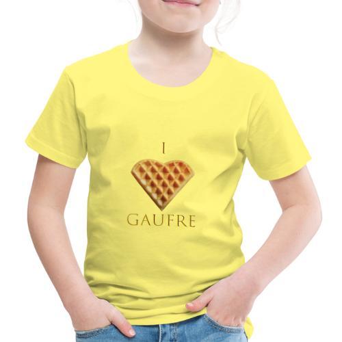 i love gaufre - T-shirt Premium Enfant