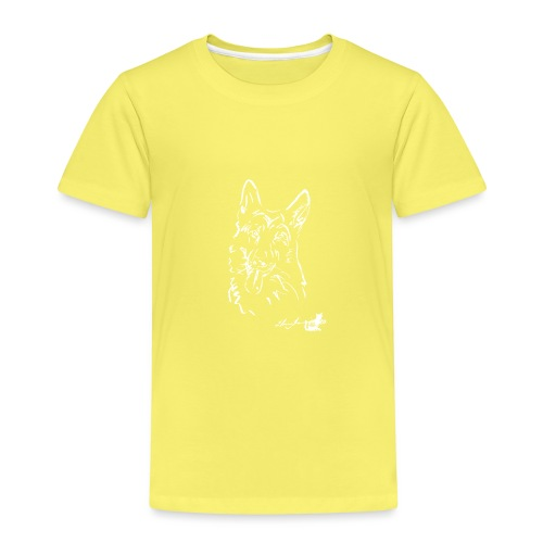 PASTORE TEDESCO BIANCO - Maglietta Premium per bambini
