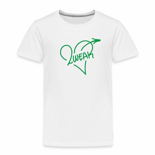 Love for a green life - Børne premium T-shirt