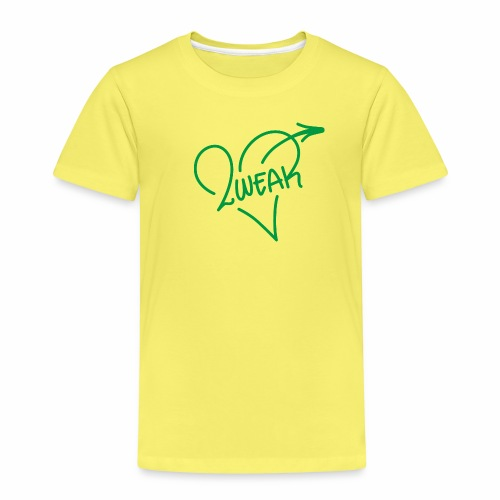 Love for a green life - Børne premium T-shirt