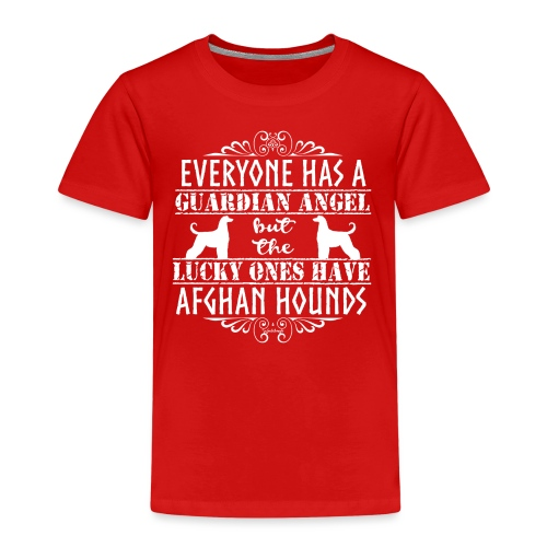 Afghan Hound Angels 2 - Kids' Premium T-Shirt