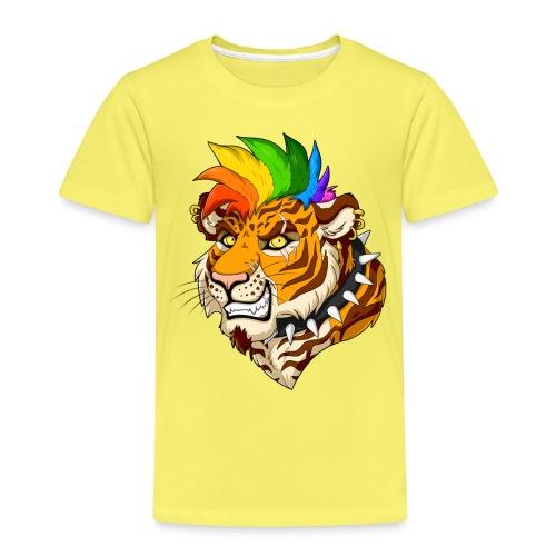 Punk Tiger - Koszulka dziecięca Premium