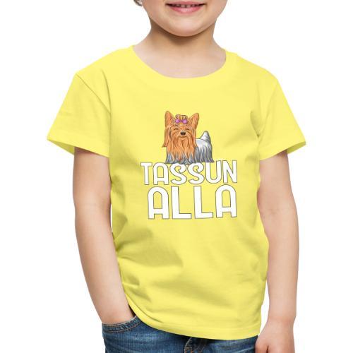 Yorkki Tassun Alla - Lasten premium t-paita