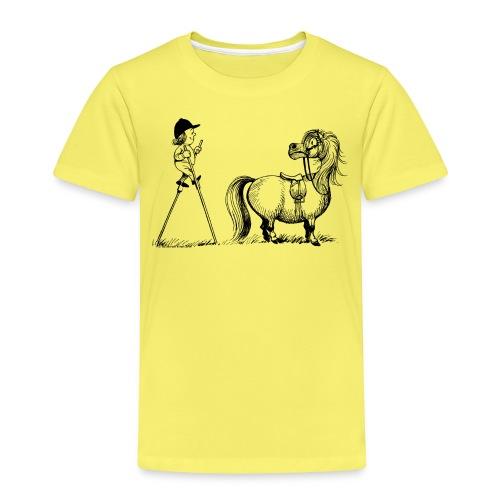 Thelwell Aufstiegshilfe mit Stelzen - Kinder Premium T-Shirt