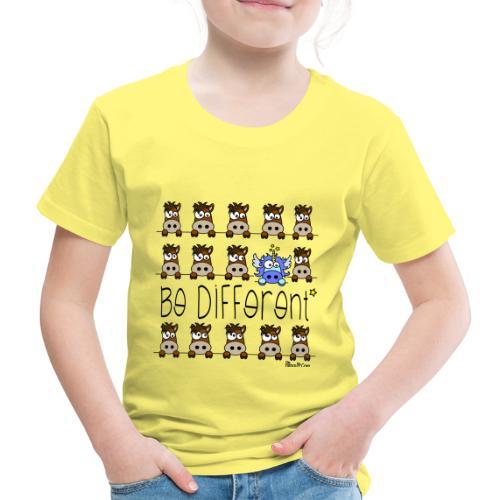 Licorne Bleu - Be Different - T-shirt Premium Enfant