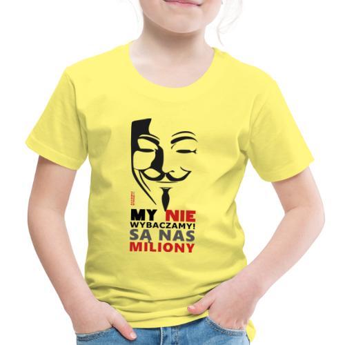 Są Nas MILIONY - kolejny motyw Akademia Wywiadu™ - Koszulka dziecięca Premium
