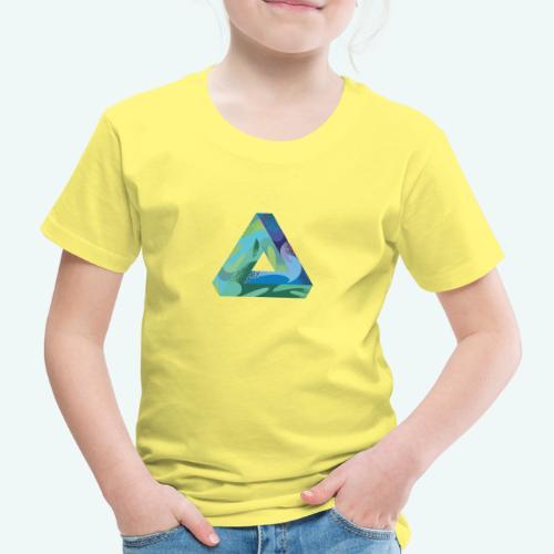 psychedlic triangle - Kinder Premium T-Shirt