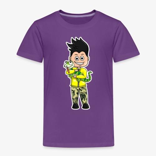 Tomu och ödlan - Premium-T-shirt barn