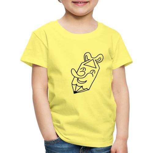 Der kleine lachende Stift. - Kinder Premium T-Shirt