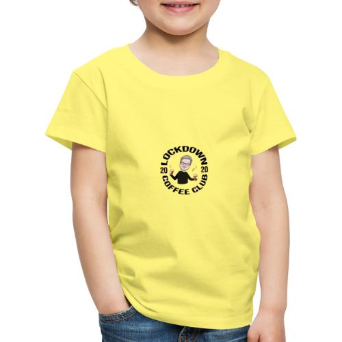 Lockdown Coffee Club 2020 - Kids' Premium T-Shirt
