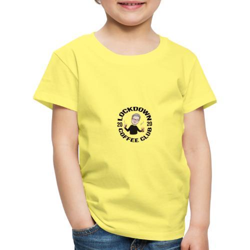 Lockdown Coffee Club 2020 - Kids' Premium T-Shirt