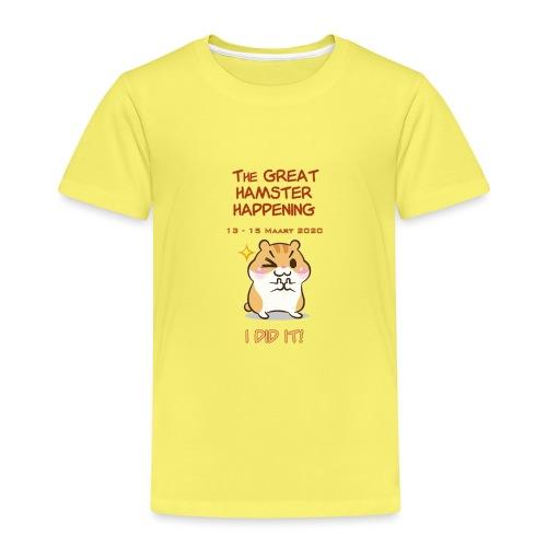 Het grote Corona Hamsterweekend! - Kinderen Premium T-shirt