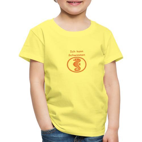 Seepferdchen - Kinder Premium T-Shirt
