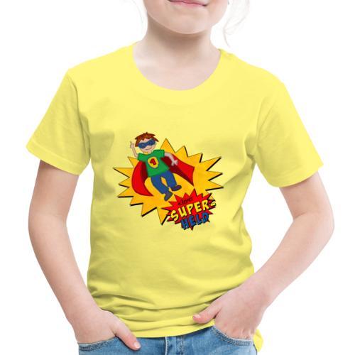 kleiner Superheld - Kinder Premium T-Shirt