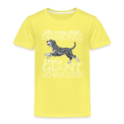 Giant Schnauzer Diamonds2 - Kids' Premium T-Shirt