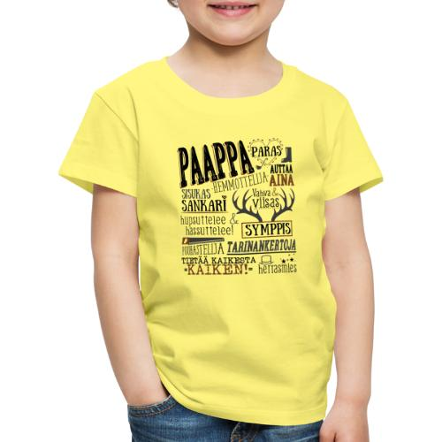 Paapan Oma Paita M - Lasten premium t-paita