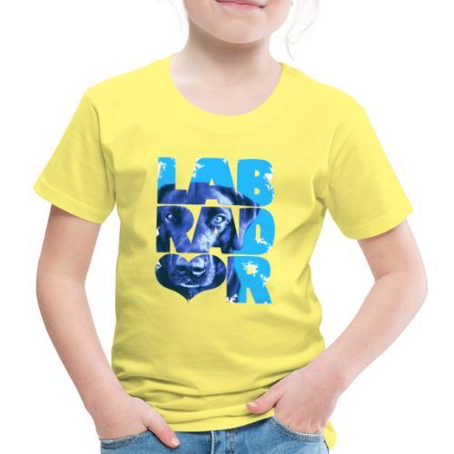 NASSU Labrador Black I - Lasten premium t-paita