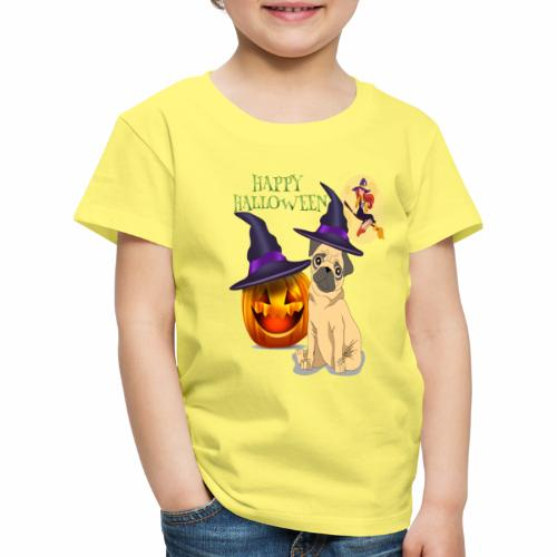 pug halloween - T-shirt Premium Enfant
