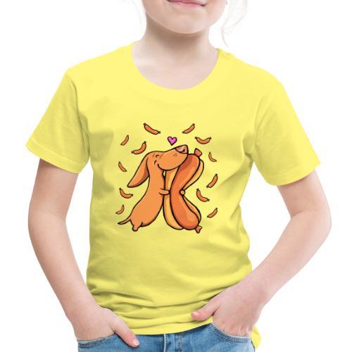 Weenie Lover - Lasten premium t-paita