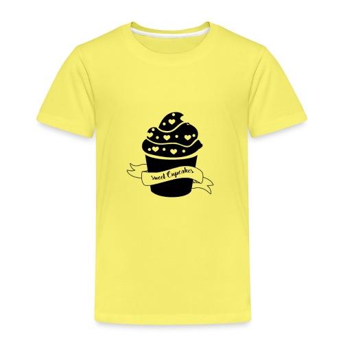 Cupcakes - Muffin - Herz - Sweet Cupcake - Kinder Premium T-Shirt
