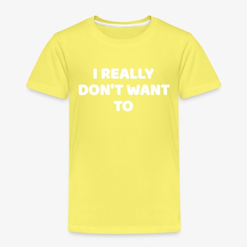I Really Don't Want To Design For Introverts - Kids' Premium T-Shirt
