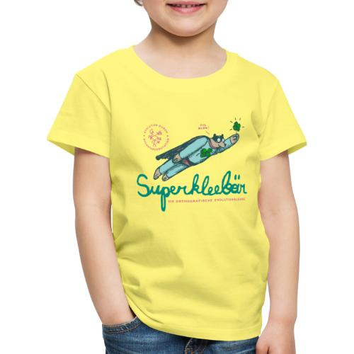 Der Superkleebär - Kinder Premium T-Shirt